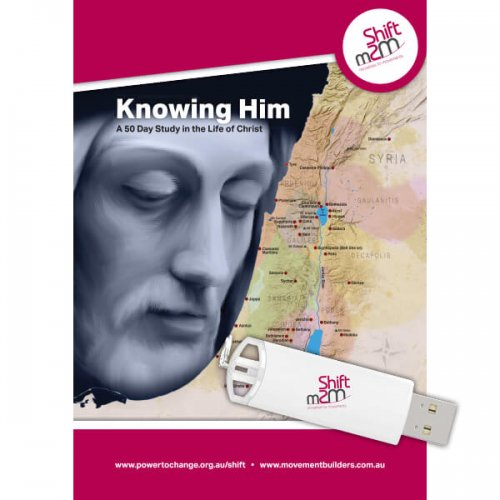 Knowing Him Study Guide and USB